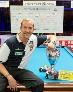 Christian Reimering, Sieger Stuttgart Open 2014
